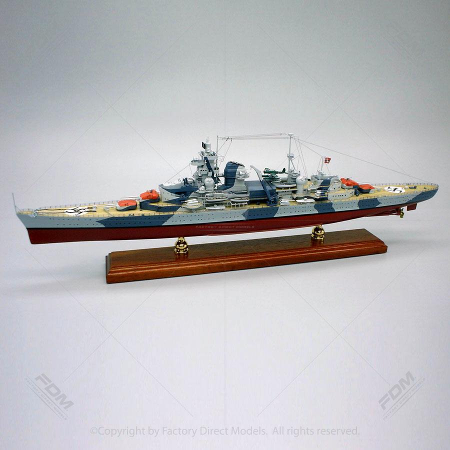 Admiral Hipper Model Ship