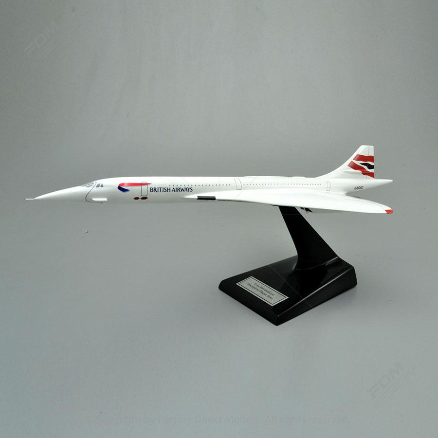 Aerospatiale BAC Concorde SST British Airways Model