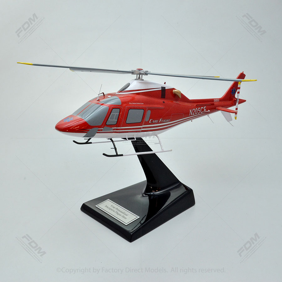 AgustaWestland AW119 Helicopter Model