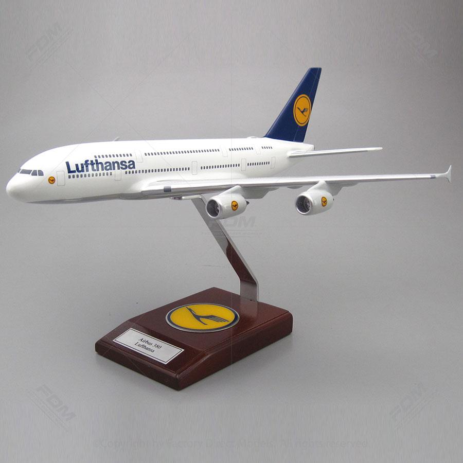 Airbus 380 Lufthansa Model