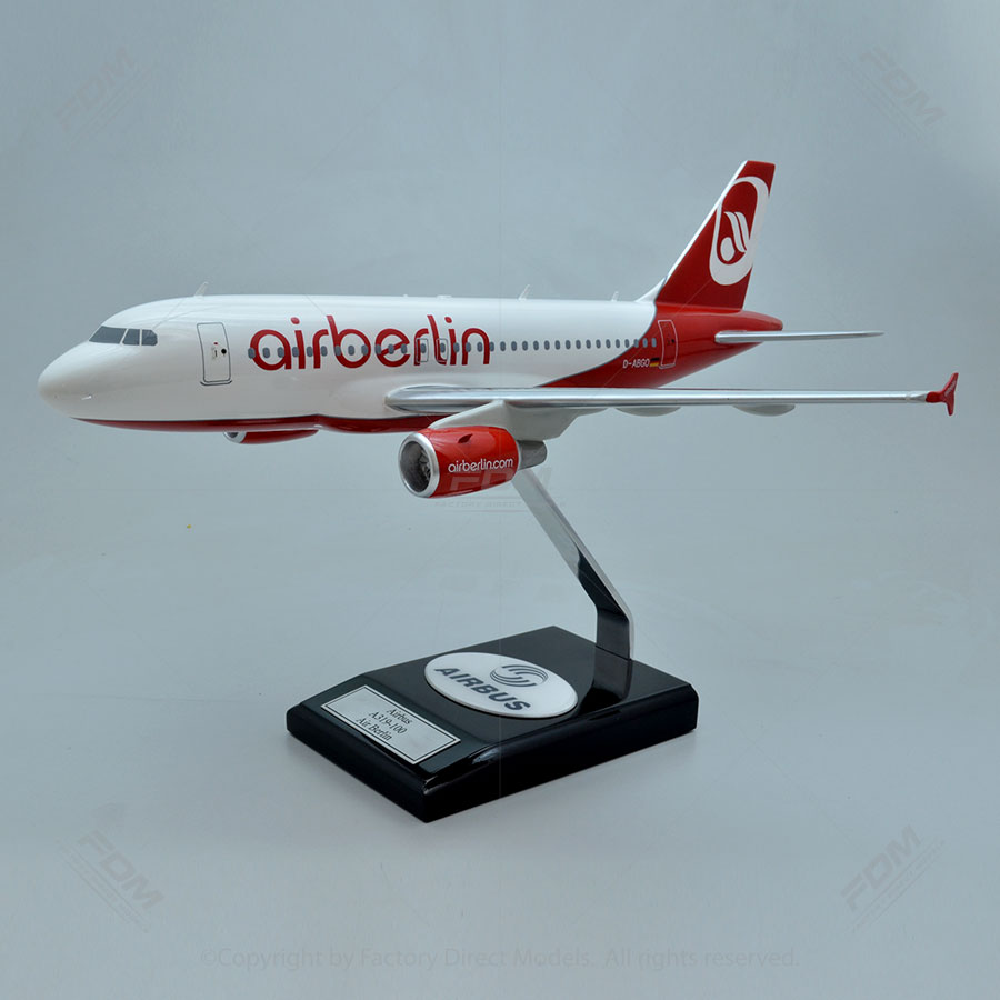 Airbus A319-100 Airberlin Model