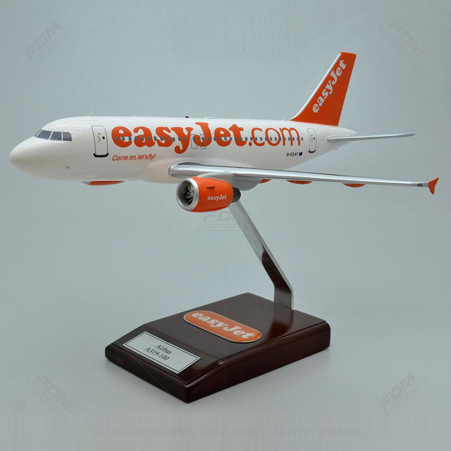 Airbus A319-100 EasyJet Model