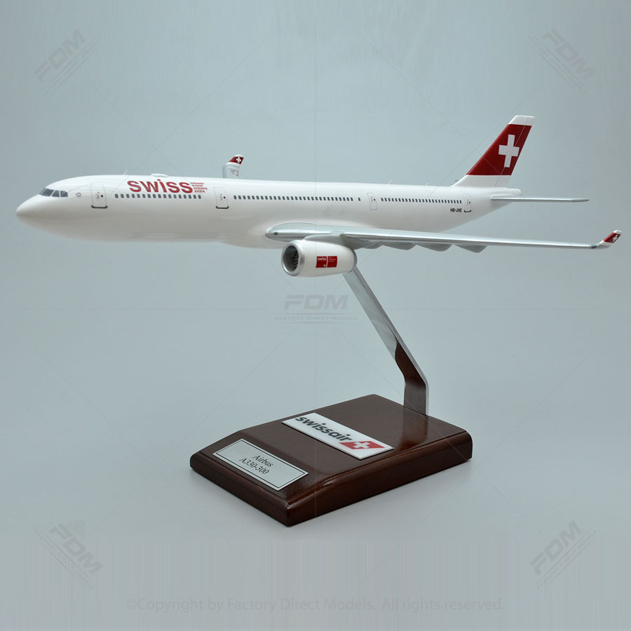 Airbus A330-300 Swiss Air Model