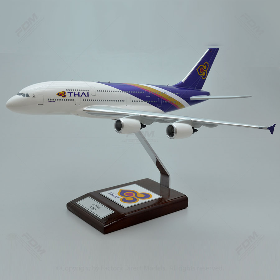 Airbus A380 Thai Airlines Model