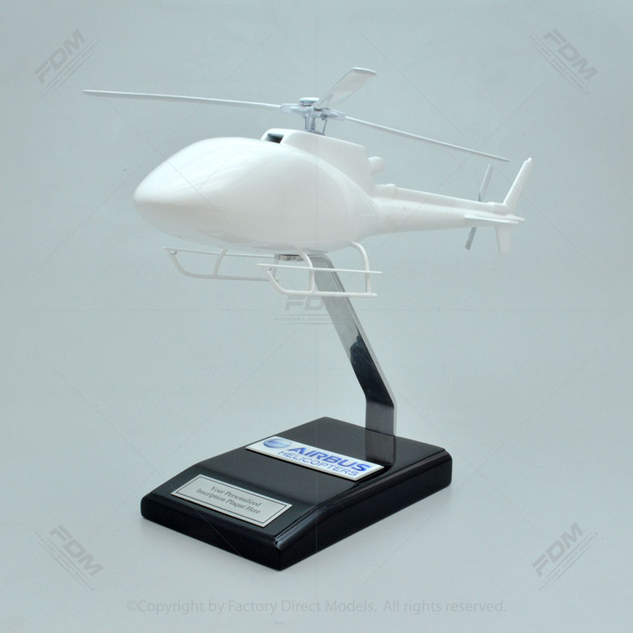 Your Custom Painted Airbus AS350 B2 Helicopter Model