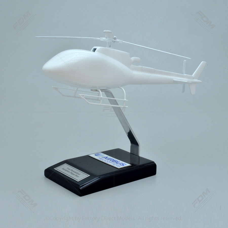 Your Custom Painted Airbus H125 Helicopter Scale Model
