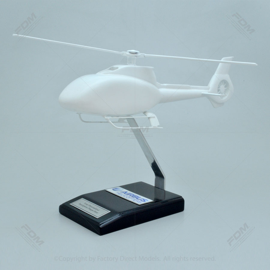 Your Custom Painted Airbus H130 Helicopter Scale Model