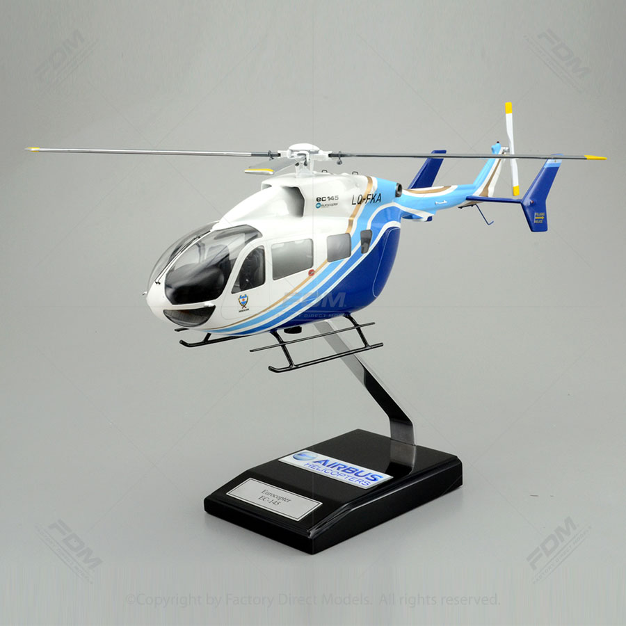 Airbus Helicopters EC145 Model with Detailed Interior