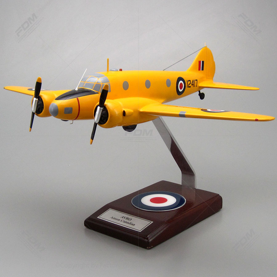 Avro Anson Canadian Scale Model Aircraft