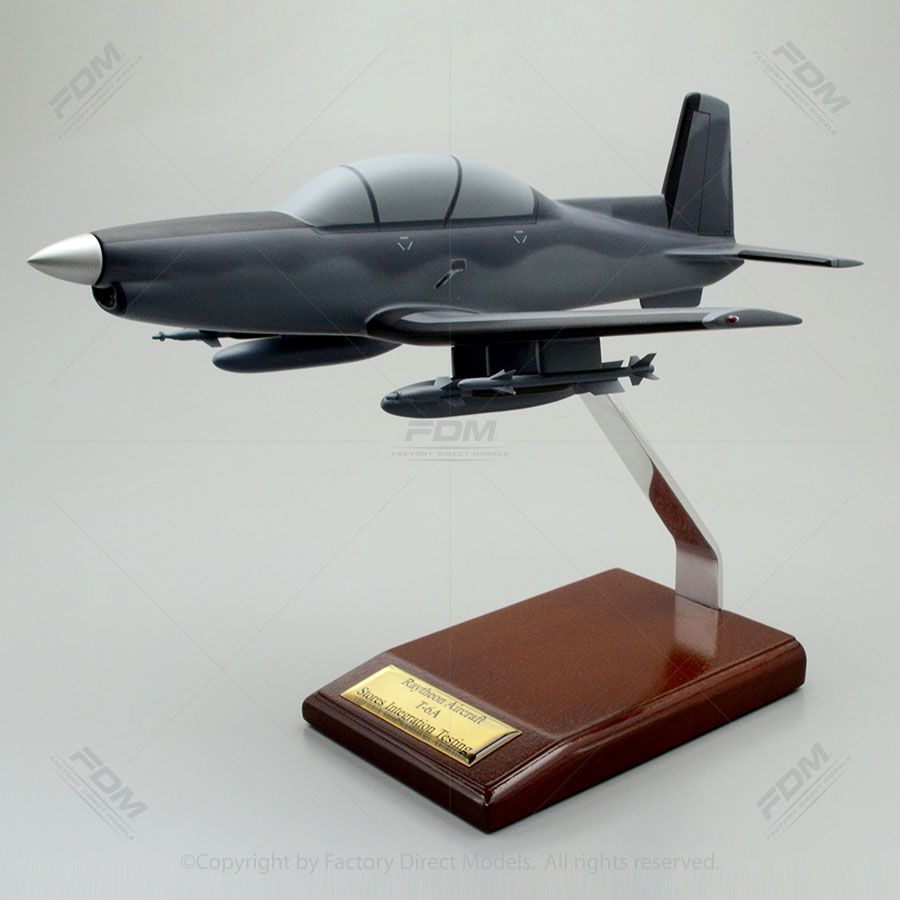 Beechcraft AT-6 Military Scale Model