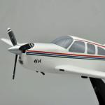 Beechcraft Bonanza V35S V-Tail Scale Model Airplane