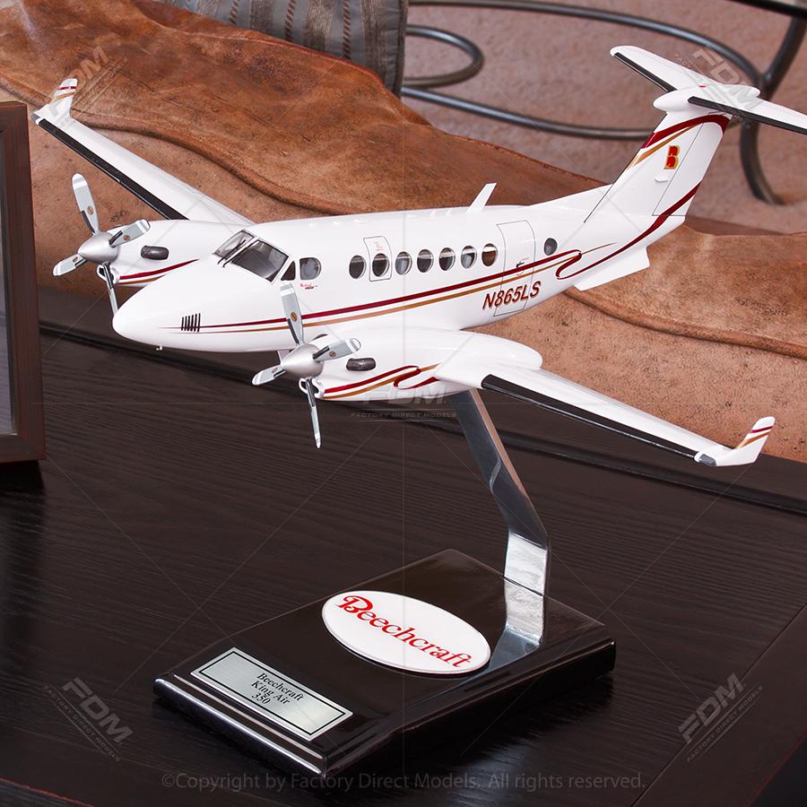 "17"" Custom Desktop Model Airplane"