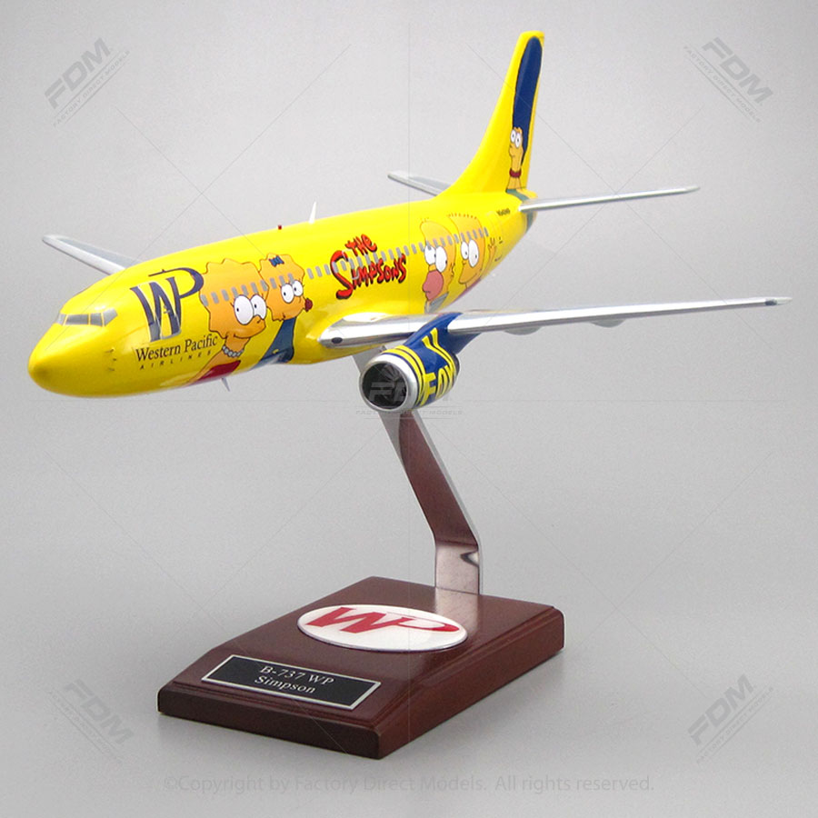Boeing B-737 Western Pacific The Simpsons Model