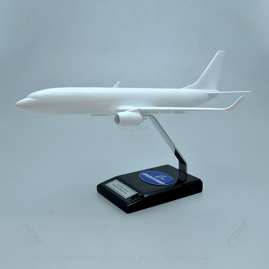 Your Custom Painted Boeing 737-800 Dreamliner Model