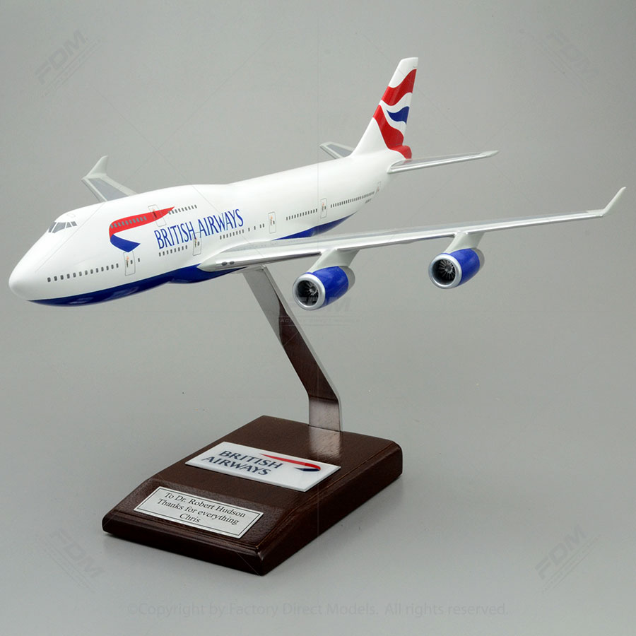 Boeing 747-400 British Airways Model