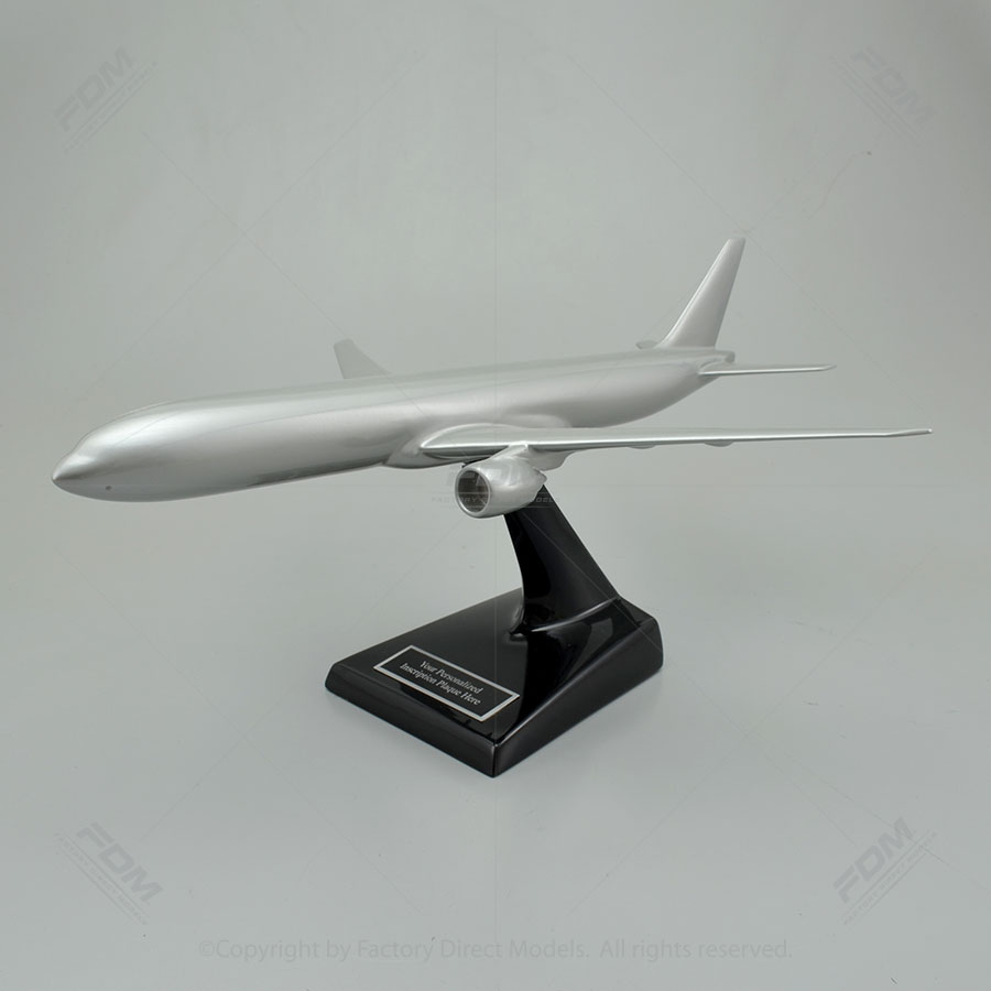 Your Custom Painted Boeing 777-300ER Scale Model