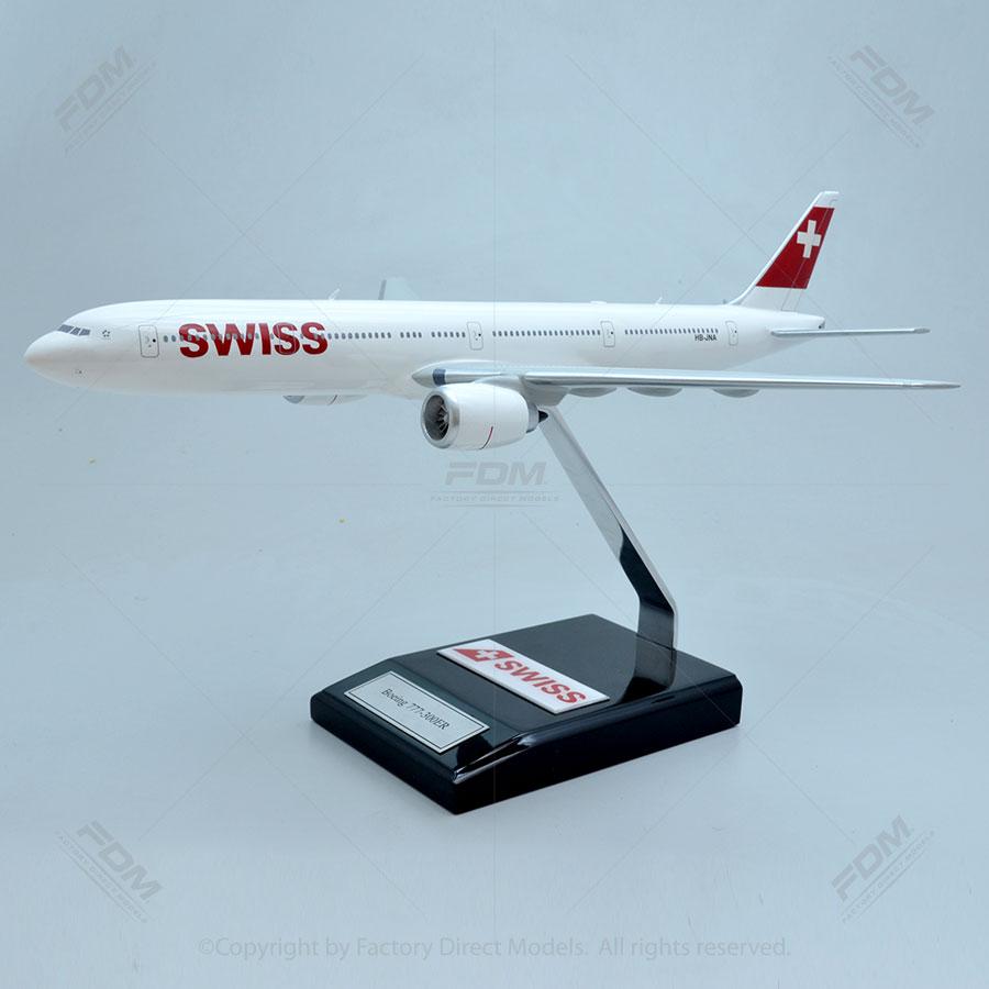Boeing 777-300ER SWISS Airlines Model