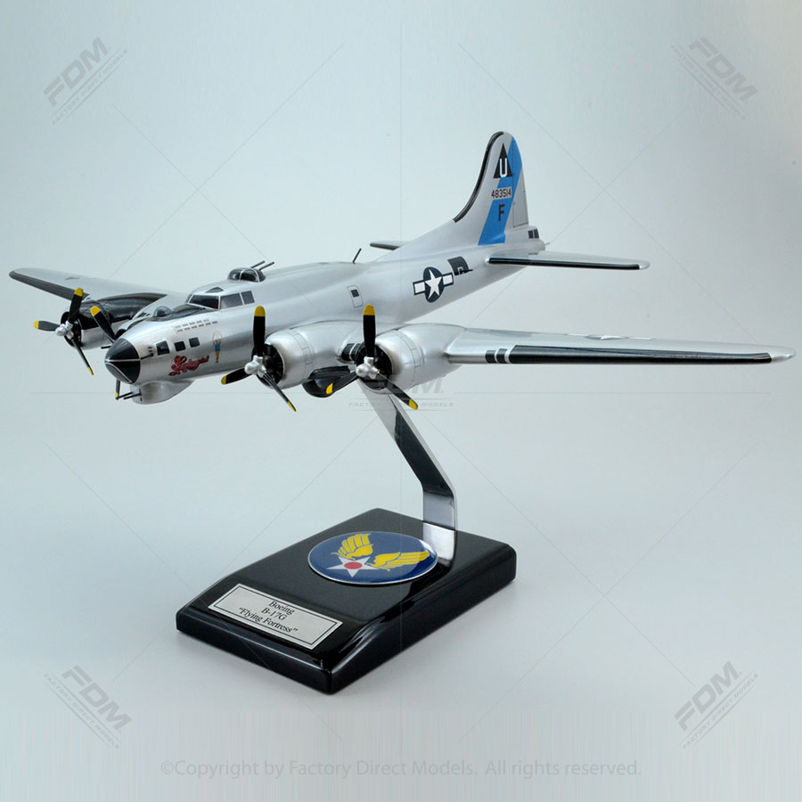 "Boeing B-17G ""Sentimental Journey"" Model Airplane"