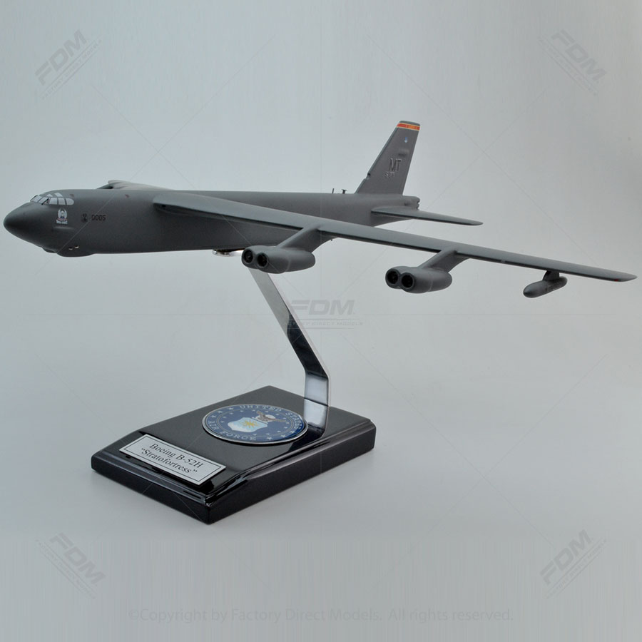 Boeing B-52H Stratofortress Scale Model Military Aircraft