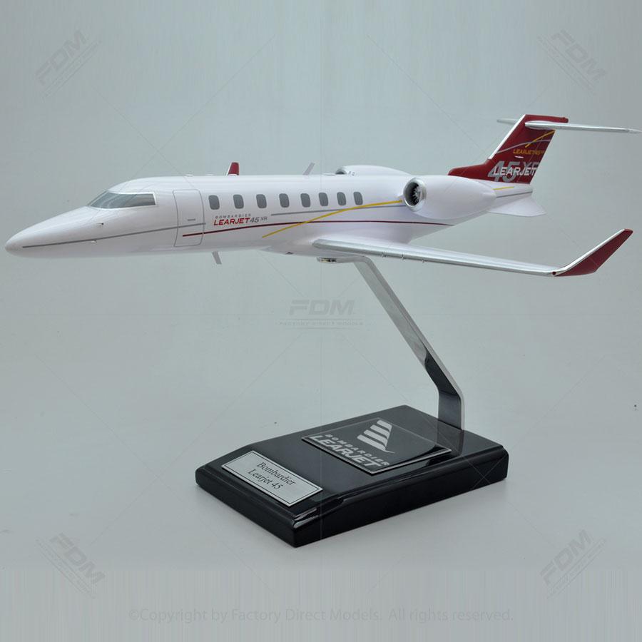 Bombardier Learjet 45 Scale Model
