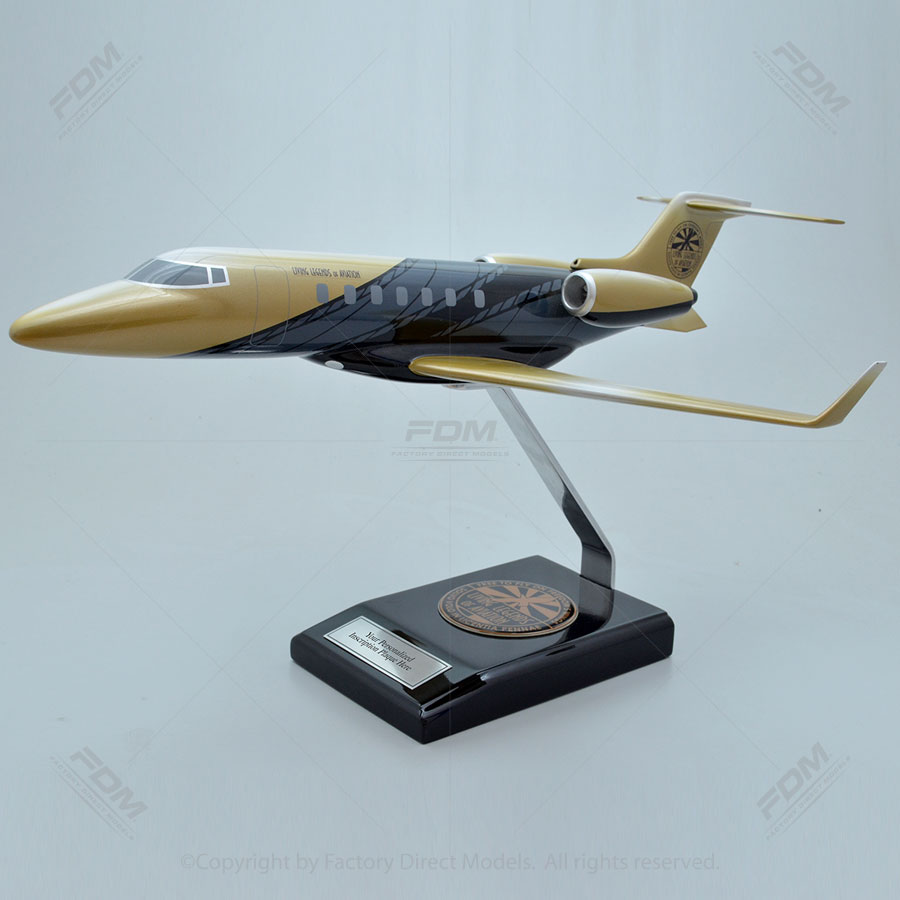 Bombardier Learjet 85 Living Legends of Aviation Paint Scheme Model