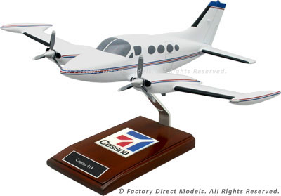 Cessna 414 Airplane Model