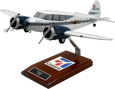 Cessna T-50 Song Bird Airplane Model
