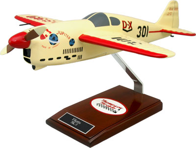 Folkerts SK-3 Wooden Airplane Model
