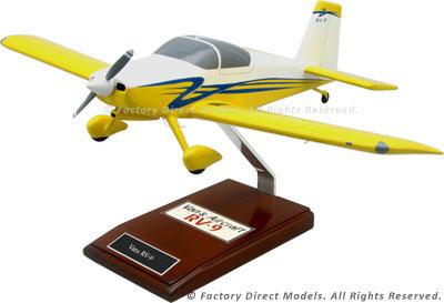 Vans RV-9 Airplane Model
