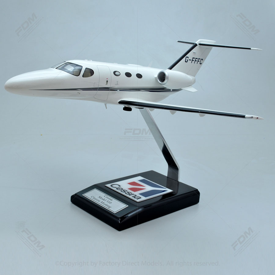 Cessna 510 Citation Mustang Model with Detailed Interior
