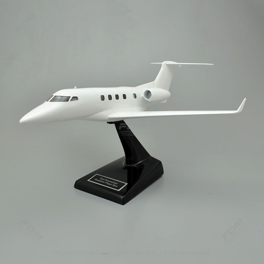 Your Custom Painted Cessna 525C Citation CJ4 Model with Detailed Interior