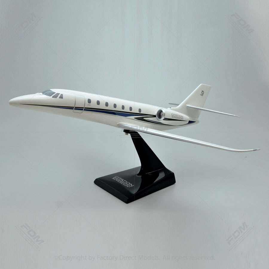 Cessna 680 Citation Sovereign+ Resin Model