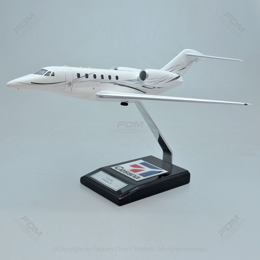 Cessna 750 Citation X Model with Detailed Interior