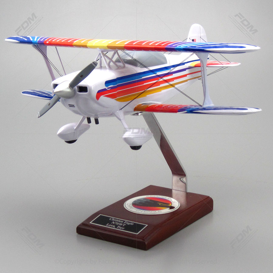 Christen Eagle II Biplane Model