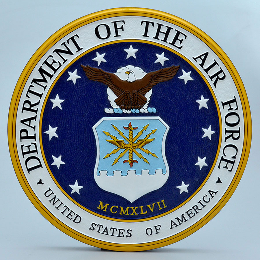 "Department of the Air Force 14"" Wall Plaque"