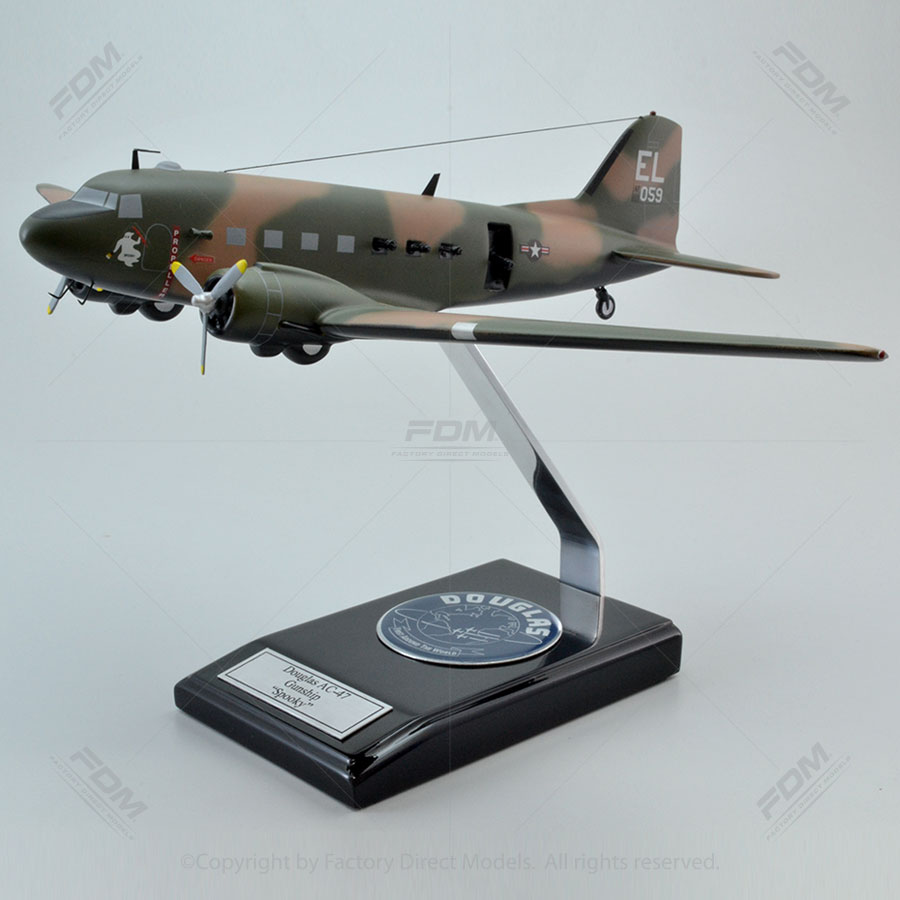 Douglas AC-47 Spooky Gunship Model