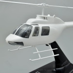Your Custom Painted Bell 206B3 JetRanger Model with Detailed Interior