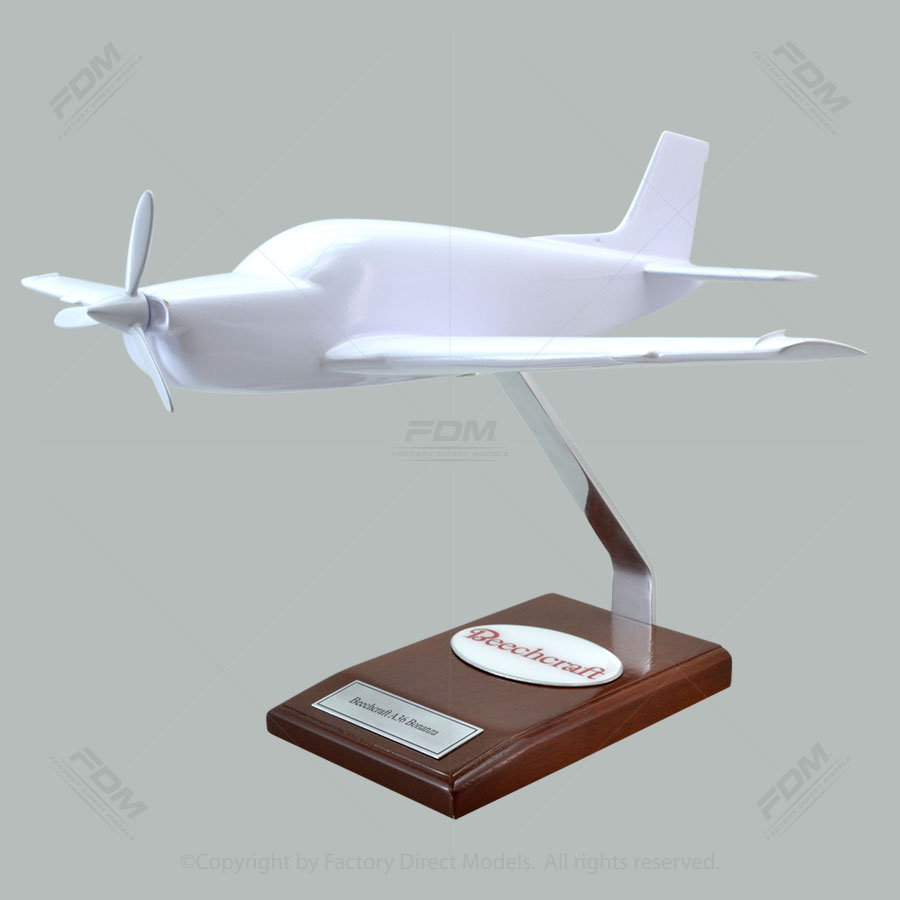 Your Custom Painted Beechcraft A36 Bonanza Scale Model Airplane