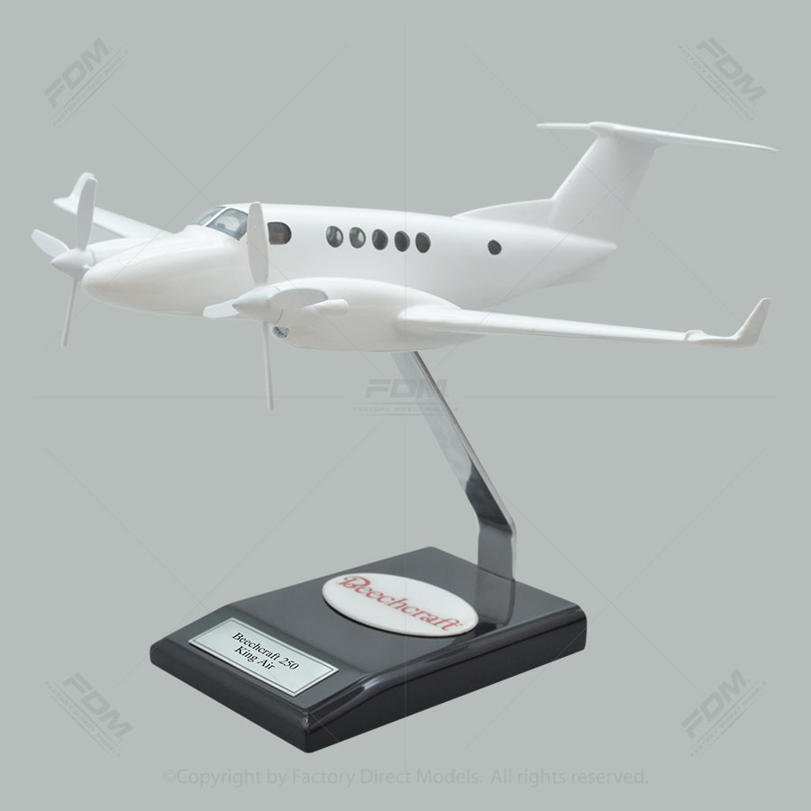 Your Custom Painted Beechcraft B250 King Air Scale Model Airplane with Detailed Interior