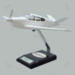 Your Custom Painted Beechcraft V35 Bonanza Scale Model Airplane with Detailed Interior