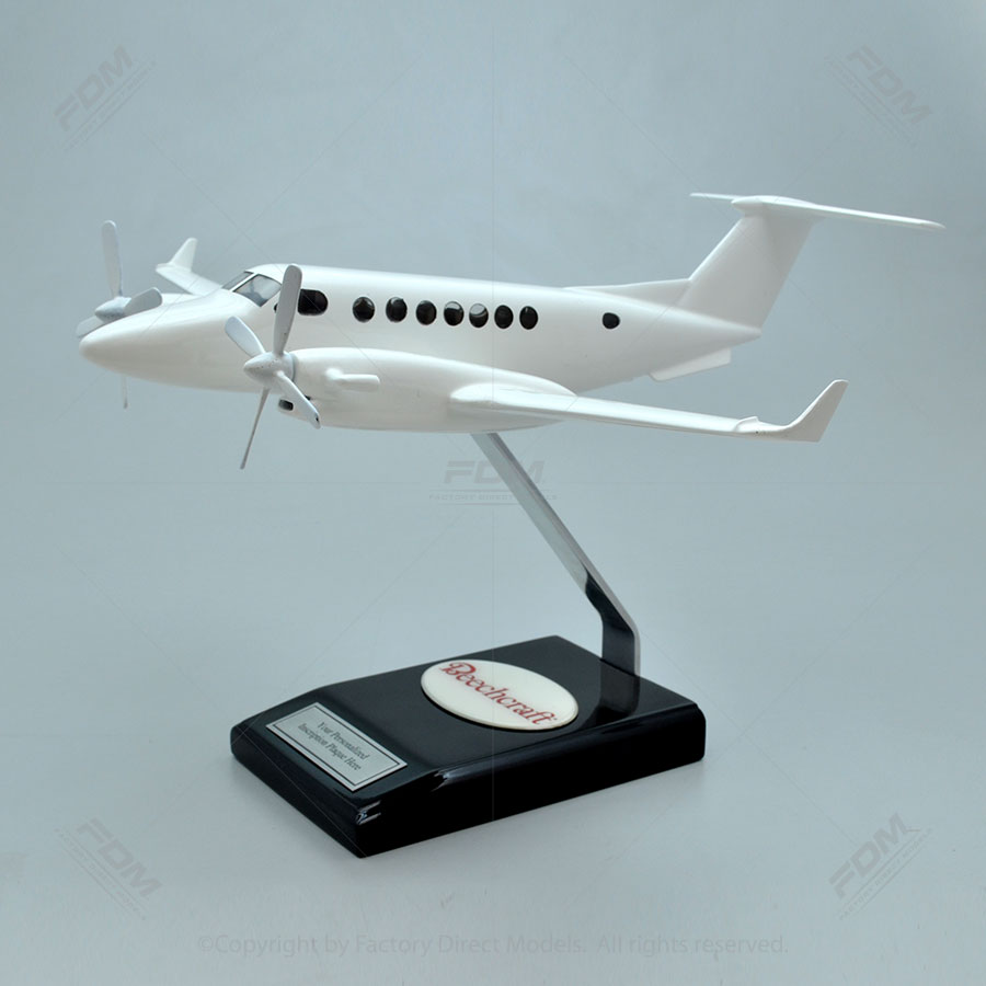 Your Custom Painted Beechcraft King Air 350i Model with Detailed Interior