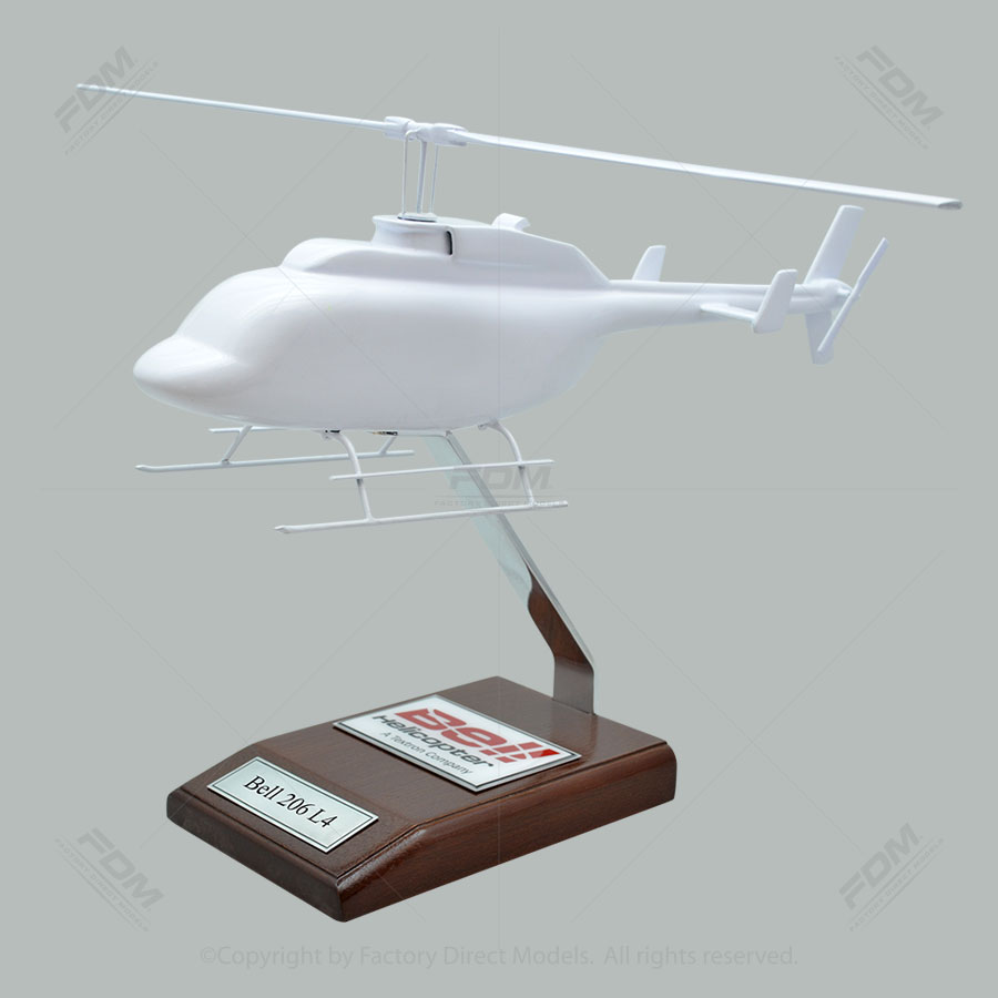 Your Custom Painted Bell 206 L4 Scale Model