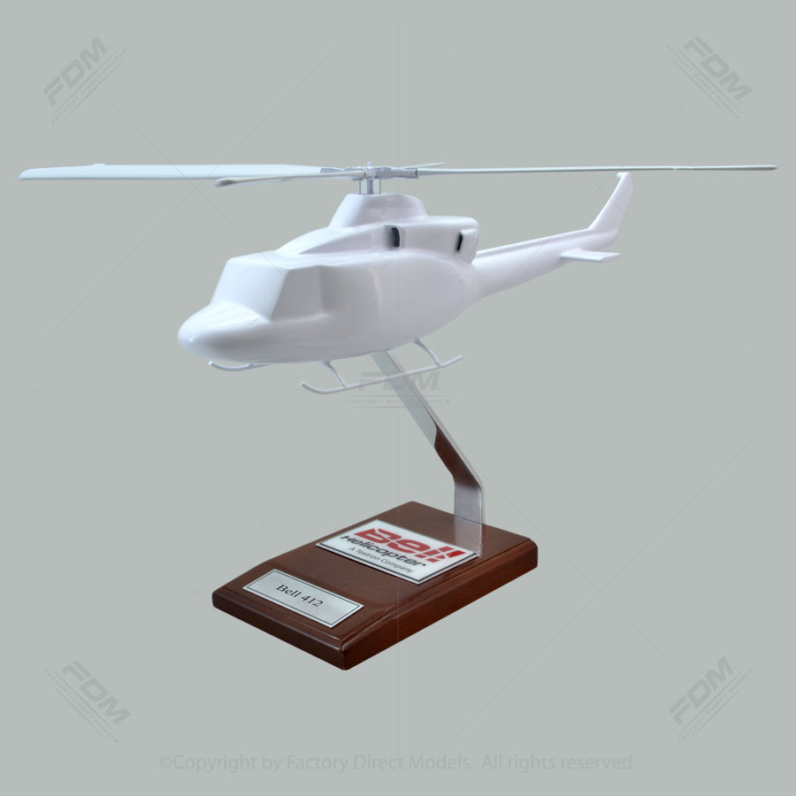 Your Custom Painted Bell 412 Scale Model Helicopter