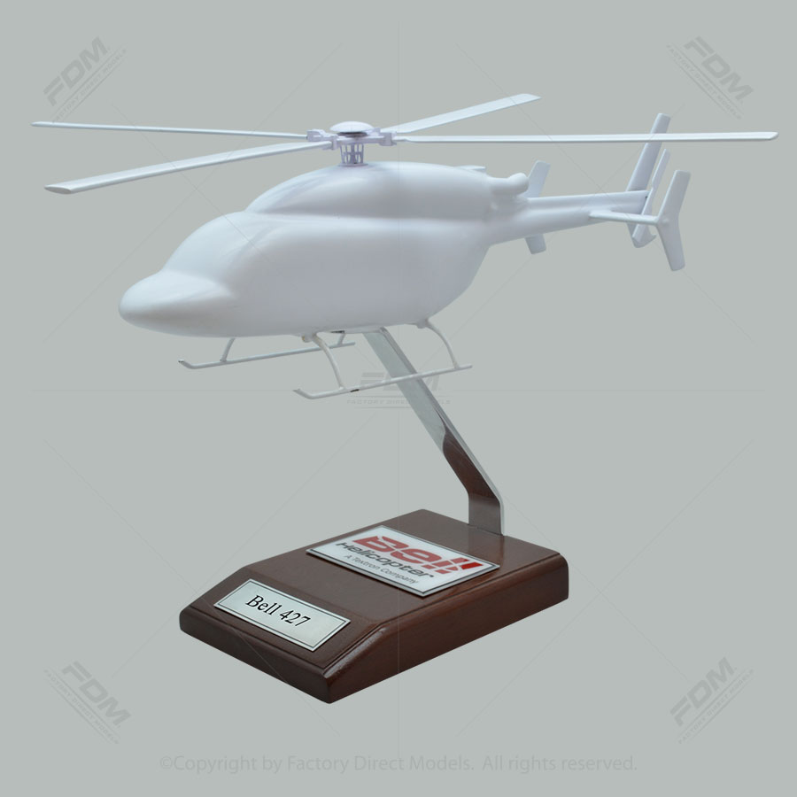 Your Custom Painted Bell 427 Scale Model