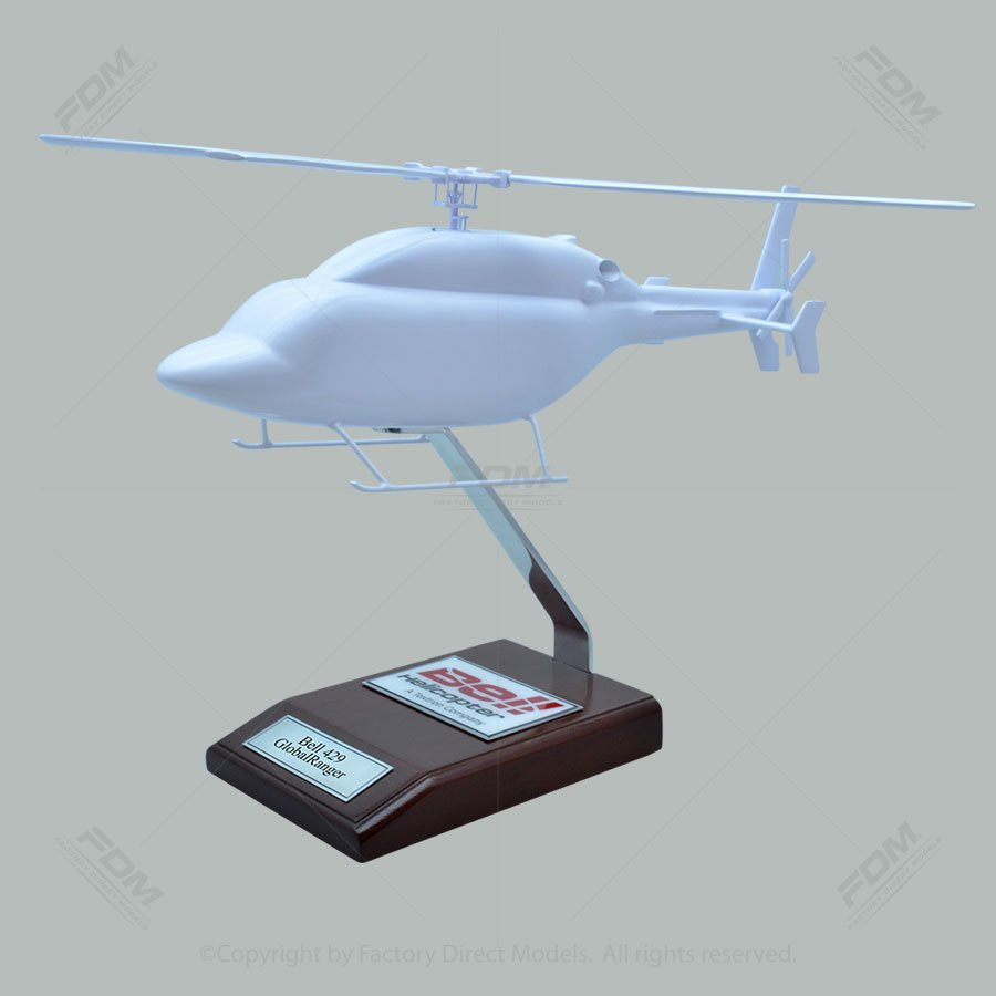 Your Custom Painted Bell 429 GlobalRanger Scale Model