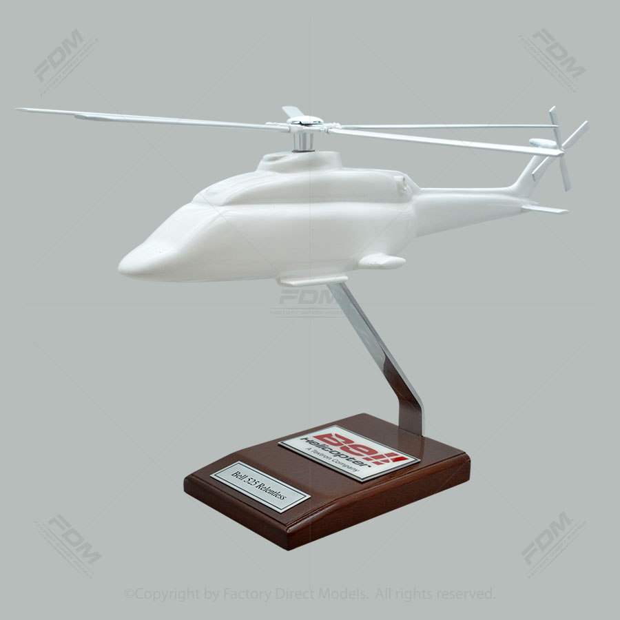 Your Custom Painted Bell 525 Relentless Scale Model Helicopter
