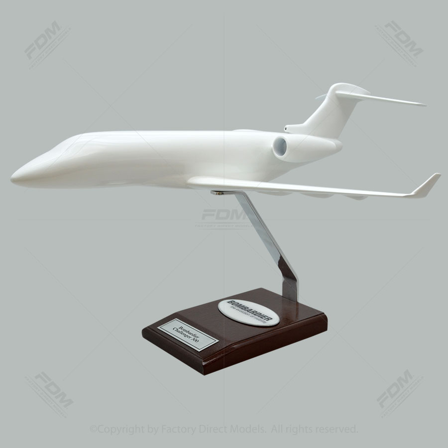 Your Custom Painted Bombardier Challenger 300 Scale Model