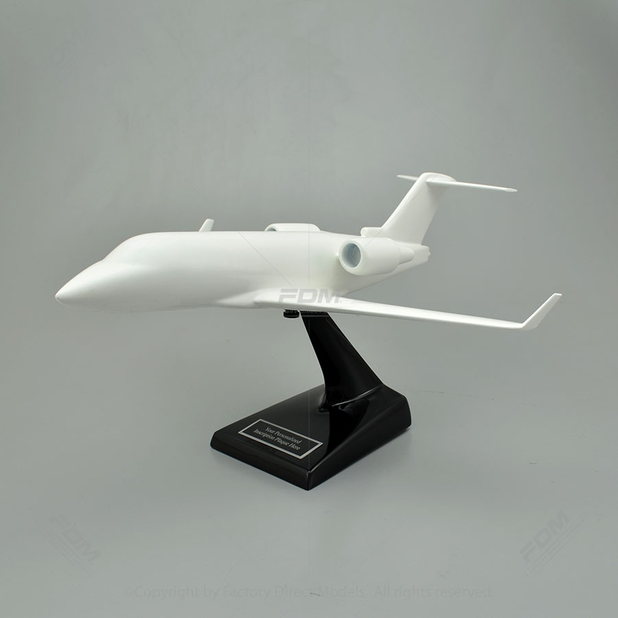 Your Custom Painted Bombardier Challenger 601-3R Scale Model