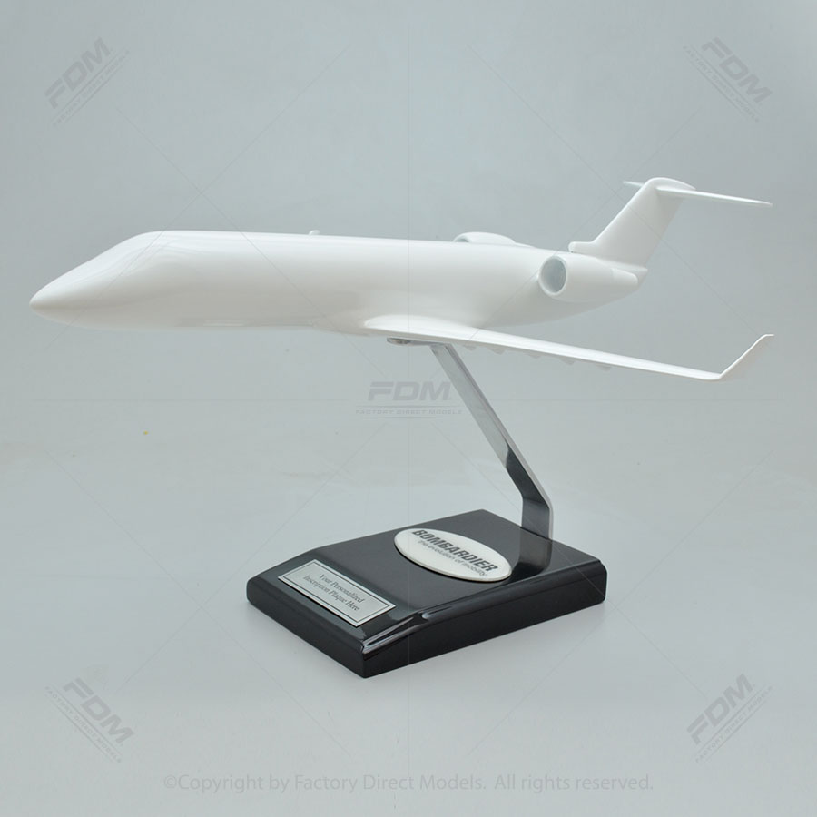 Your Custom Painted Bombardier Challenger 850 Scale Model