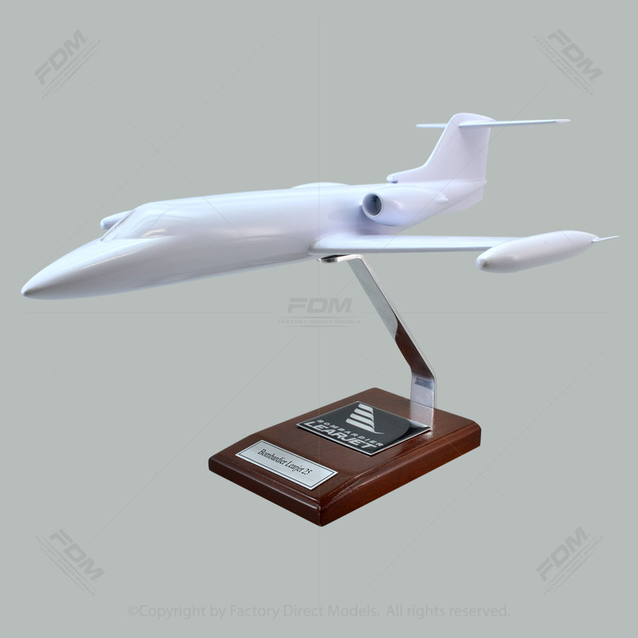 Your Custom Painted Bombardier-Lear Learjet 25 Scale Model Airplane